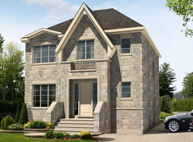 La classique mod les de maisons construction marival for Architecture maison classique